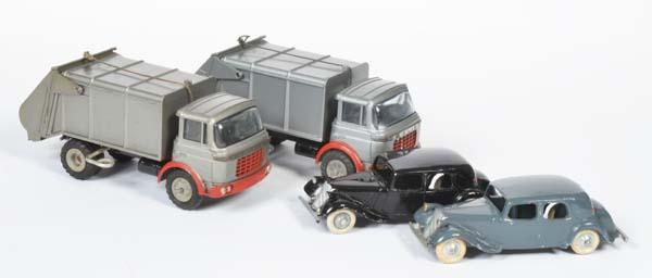 JRD, 2x Müllabfuhr + 2x Traction Avant Citroen MCV