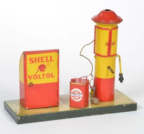 Kibri, Shell Tankstelle um 1930