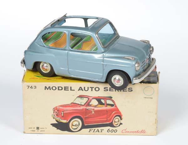 Repro Box Bandai Nr.743 Fiat 600