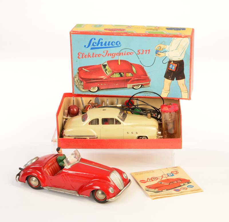 Spielzeug SHUCO FEDERMOTOR INGENICO 5300 Autos & Lkw