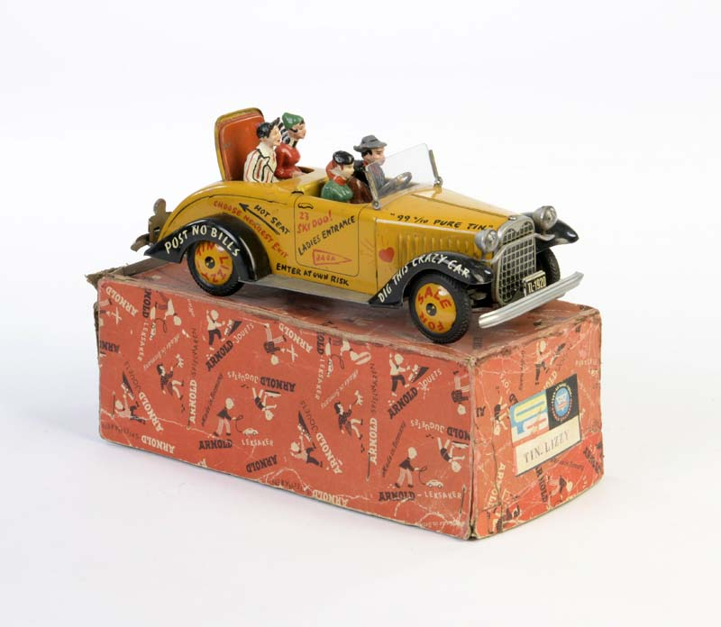 Spielzeug Arnold  tin lizzy ford T // tin toy car Blechspielzeug