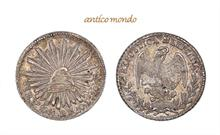 Mexiko, Republik, 1/2 Real, 1848