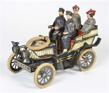 Günthermann, Limousine mit 4 original Figuren
