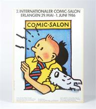 "Plakat ""2. Internationaler Comic Salon"""