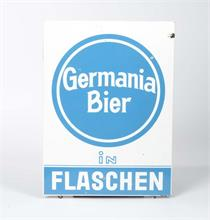 "Emailleschild ""Germania Bier"""