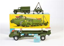 Corgi Toys, GS 9 Corporal Guided Missile + Zubehör