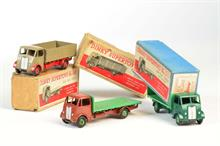 Dinky Toys, 511 Guy 4 Ton Lorry,  512 + 513 Truck