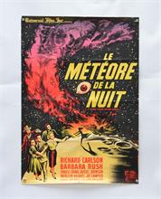 "Filmplakat ""Le Meteorede la Nuit"" (It came from outer Space)"