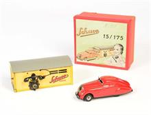 Schuco, Set 15/175 Garage + Patentauto