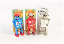3x Atomic Robot MAN