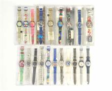 20x Swatch (Quarz, Chrono u.a.)