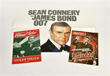 James Bond, 2x Filmprogramm + 1 Plakat