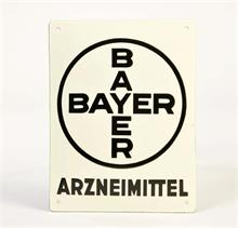 "Emailleschild ""Bayer"""