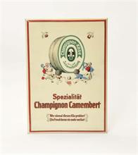 "Semi Glasschild ""Champion Camembert"""