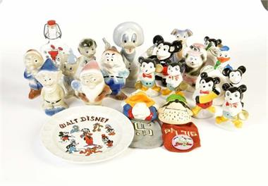 22 Disney Porzellanfiguren